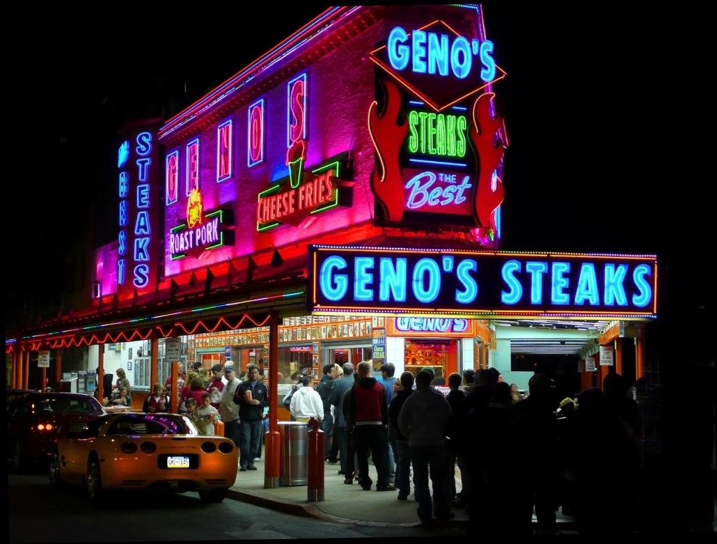 Philly cheesesteaks geno's usa