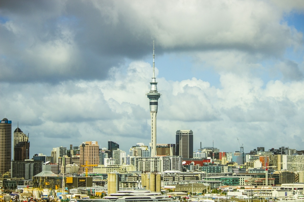 sky tower auckland skyscrapers